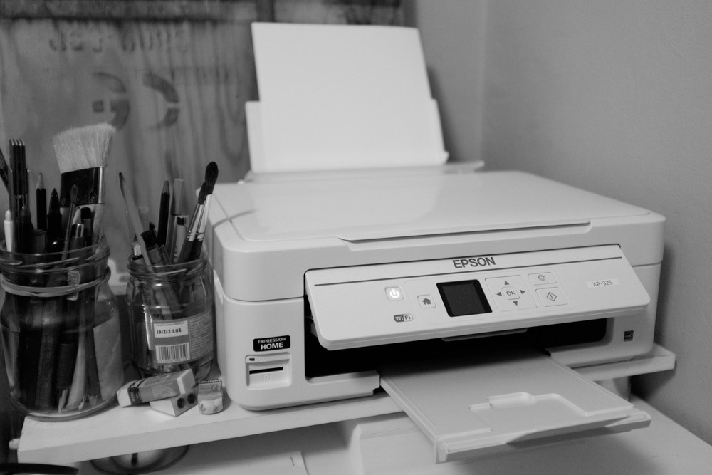 Our home printer, Epson XP-325. It works!